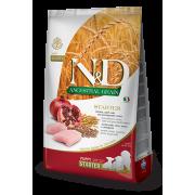 Корм Farmina N&D для щенков до 2-х месяцев с курицей и гранатом и спельтой, низкозерновой
